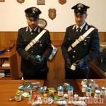 Villafranca: coltivava e spacciava marijuana, arrestato 34enne