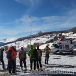 Sestriere: valanga a Punta Rognosa, due scialpinisti in salvo