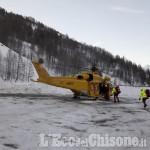 Due scialpinisti dispersi tra Cesana e Sauze, le ricerche del Soccorso Alpino