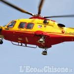 Barge: 52enne ferito con una motosega mentre tagliava la legna a Crocera