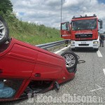 Piscina: 24enne cappotta in autostrada, soccorsa dagli uomini della Guardia di Finanza