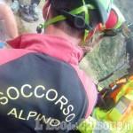 Cumiana: scivola da un pendio alla Verna, cercatore di funghi recuperato illeso dal Soccorso Alpino