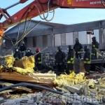 Piossasco: i Vigili del fuoco riescono a salvare 40 mucche dopo il crollo della stalla