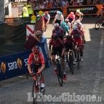 Giro d'Italia: fuggitivi a Pinerolo