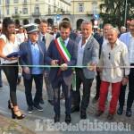 """Pinerolo: inaugurata dal sindaco Salvai la """"Rassegna dell'Artigianato 40+1"""""""