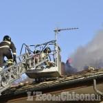 Porte: incendio a un camino, traffico deviato per un'ora