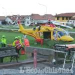 Revello: cade dal balcone, bambino trasportato in elisoccorso al Regina Margherita