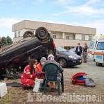 Revello, quattro feriti in uno scontro fra auto