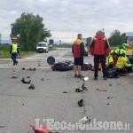 Rivalta: ennesimo incidente allo svincolo del Sito, grave un motociclista