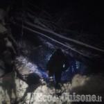 Rorà: quattro famiglie isolate a causa di una frana