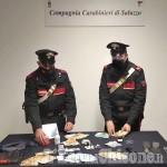 Controlli antidroga a tappeto, quattro arresti nel saluzzese: in manette anche un uomo di Pancalieri
