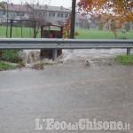 Allerta meteo: a Piscina esonda il Rio Torto