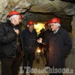Il presidente della Regione Chiamparino all'Ecomuseo delle miniere della Val Germanasca
