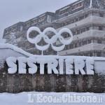 Prima nevicata di stagione: 15 centimetri al Colle del Sestriere