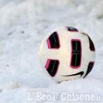 Calcio, la neve blocca tutta l'attività regionale: turno rinviato al weekend successivo