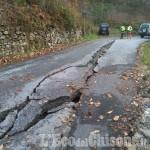 Alluvione: Talucco, strada cede in due punti