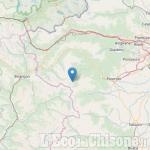 Terremoto magnitudo 2.3 con epicentro a Prali