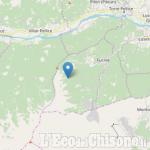 Scossa di terremoto di magnitudo 2.6 con epicentro a Rorà, in Val Pellice