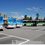 Presentati questa mattina i nuovi autobus Sadem per l'Aeroporto