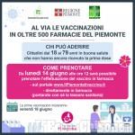 Aperte le iscrizioni per le vaccinazioni in farmacia e agli open days per i giovani