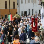 Vigone: grande partecipazione al funerale del sindaco Luciano Abate