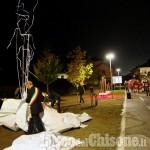 """Vigone, due nuove panchine d'artista per """"Mais e Cavalli"""""""