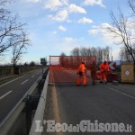 Villafranca-Vigone: domani pomeriggio, Ponte Pellice chiuso