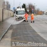 Villafranca: al via le operazioni di sanificazione sulle strade