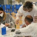 A Villafranca, ieri 200 vaccinati al Palasport