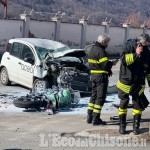 Moto contro auto Acea a Villar Perosa: muore giovane motociclista