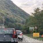 Villar Perosa: code per semaforo tra il ponte per San Germano Chisone e borgata Artero