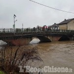 Volvera: allerta meteo, il torrente Chisola fa ancora paura
