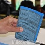 Elezioni Pinerolo: l'affluenza a mezzogiorno è stata del 12,65 %, in calo rispetto al 2016