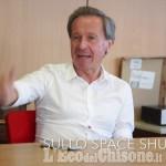 Embedded thumbnail for L'ex astronauta Maurizio Cheli incontra la redazione dell'Eco del Chisone