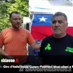 Embedded thumbnail for Giro d'Italia, tappa Cuneo-Pinerolo: tifosi dal Cile a Montoso