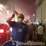Embedded thumbnail for Italia Campione d'Europa: festa a Pinerolo