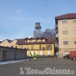 Embedded thumbnail for Luserna S.G.: demolita la torre del serbatoio di Pralafera