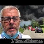 Embedded thumbnail for Incendio alla Cia Technima di Roletto: intervista all'Amministratore delegato Paolo Barberis