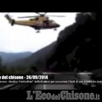 Embedded thumbnail for Villar Perosa: doppio incidente, intervento dell'elisoccorso